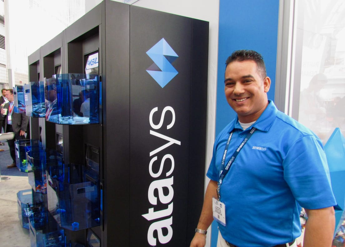 Inside the Stratasys Continuous Build Demonstrator