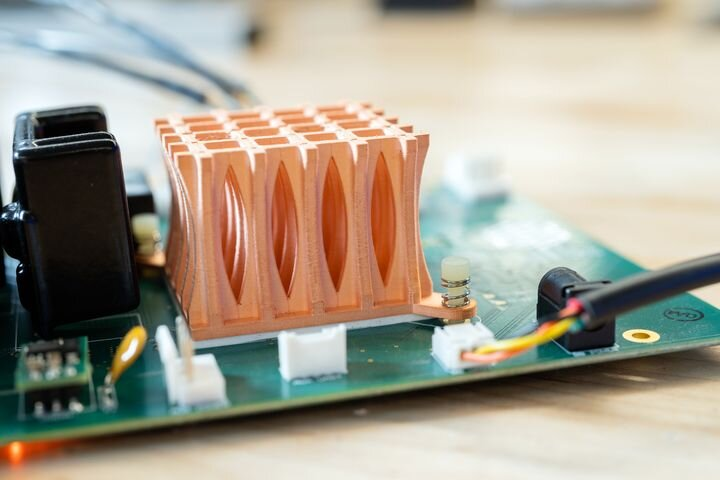 The Metal X 3D Printer Gains Copper Metal