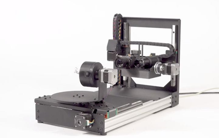 The D3D-s 3D Jewelry Scanner Offers High Resolution of Complex 3D Models