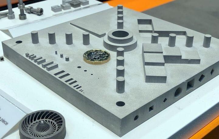 Large 150 x 150 mm metal 3D print made by Digital Metal [Source: Fabbaloo]
