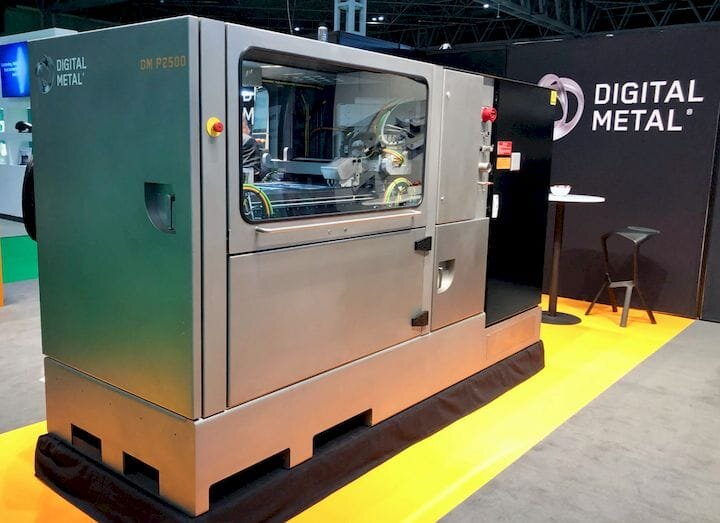 Digital Metal Expands Build Volume, With More To Come?
