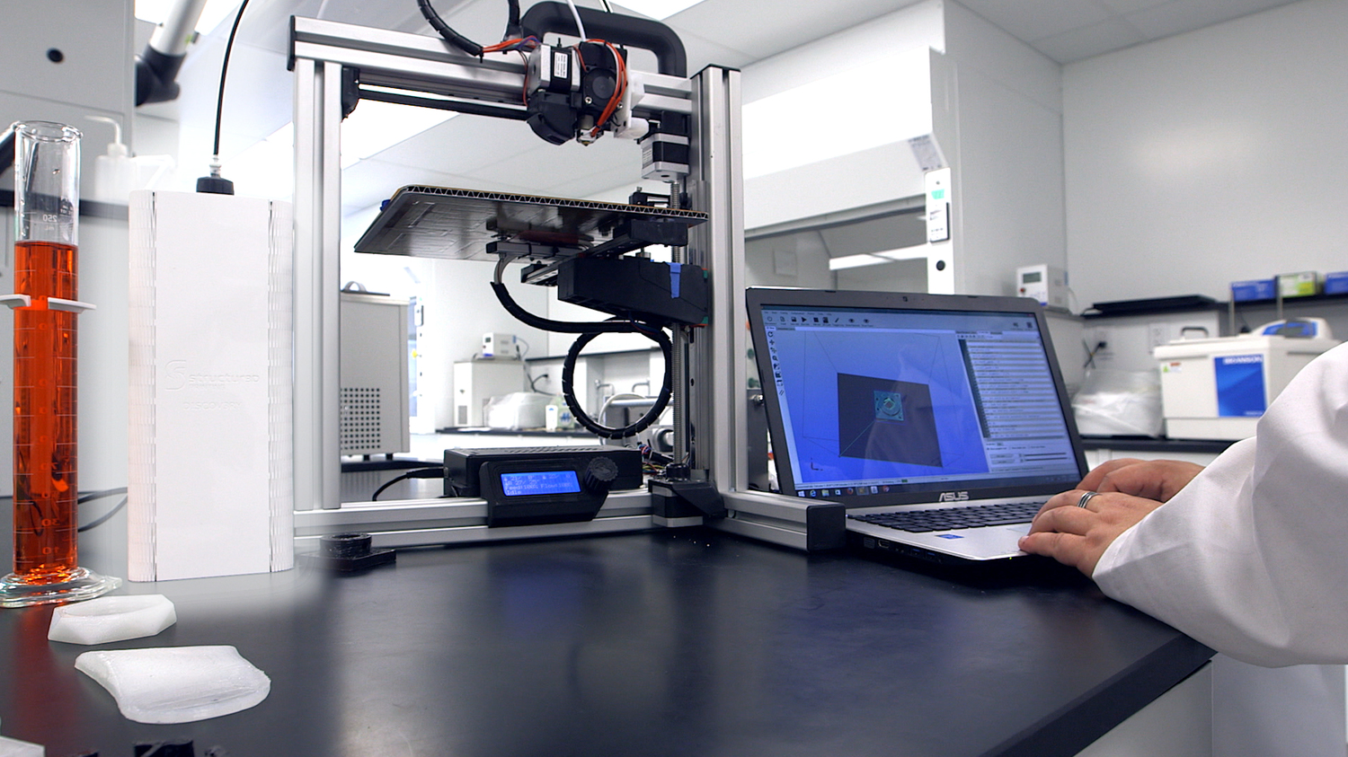 Structur3D Launches Discov3ry: The 3D Paste Extruder
