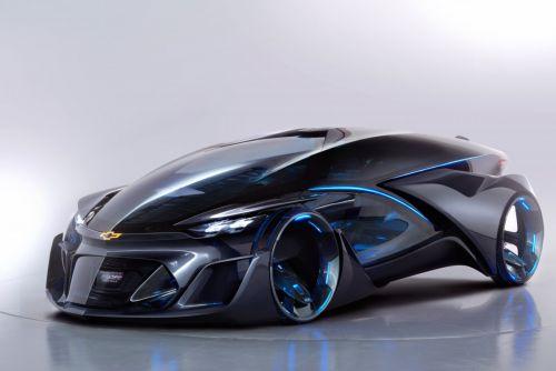 Futuristic Chevrolet Autonomous EV Car