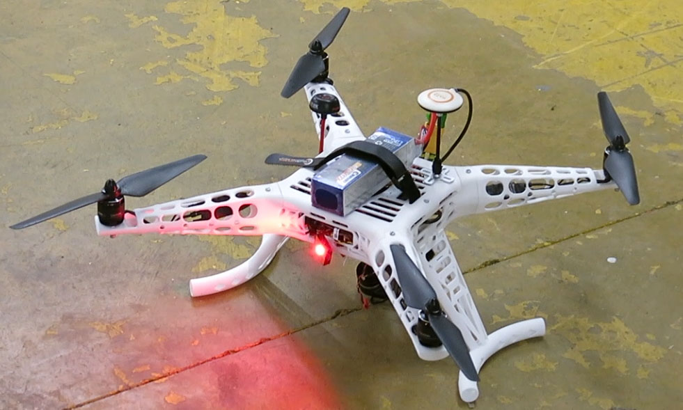 Drone completely 3D printed by Sculpteo Intern Alexis Massol [Source: Sculpteo ]