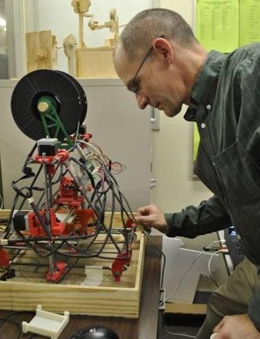 A 3D Printer Invades a High School