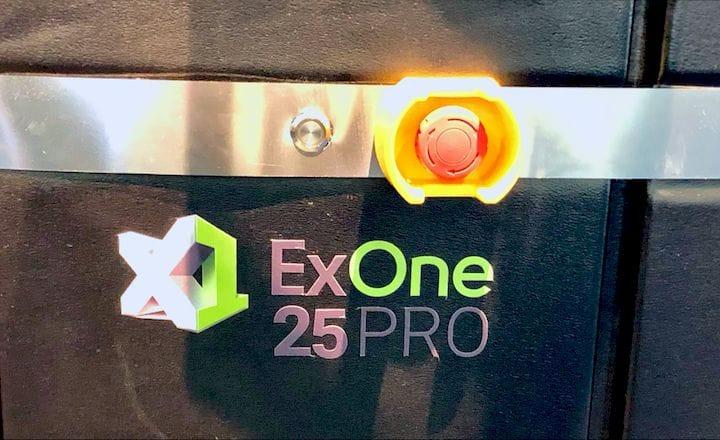 The ExOne X1 25PRO metal 3D printer [Source: Fabbaloo]