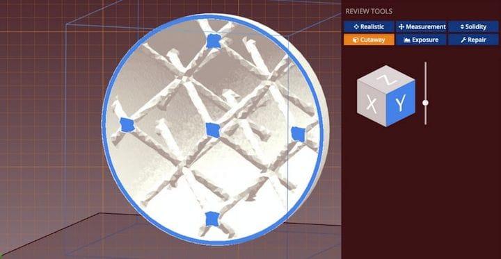 Generating a complex 3D lattice [Source: FabPilot]