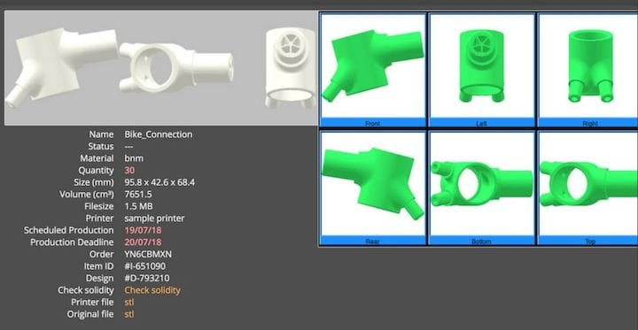 Examining the metainfo that travels with a 3D printed part [Source: FabPilot]