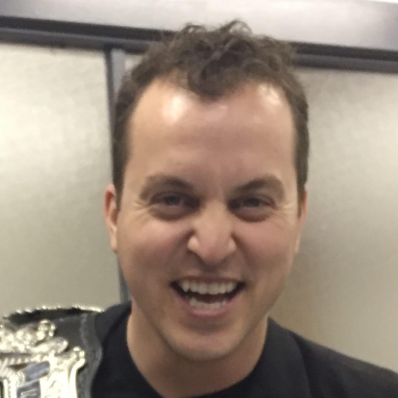 Original 2D image of a happy fellow