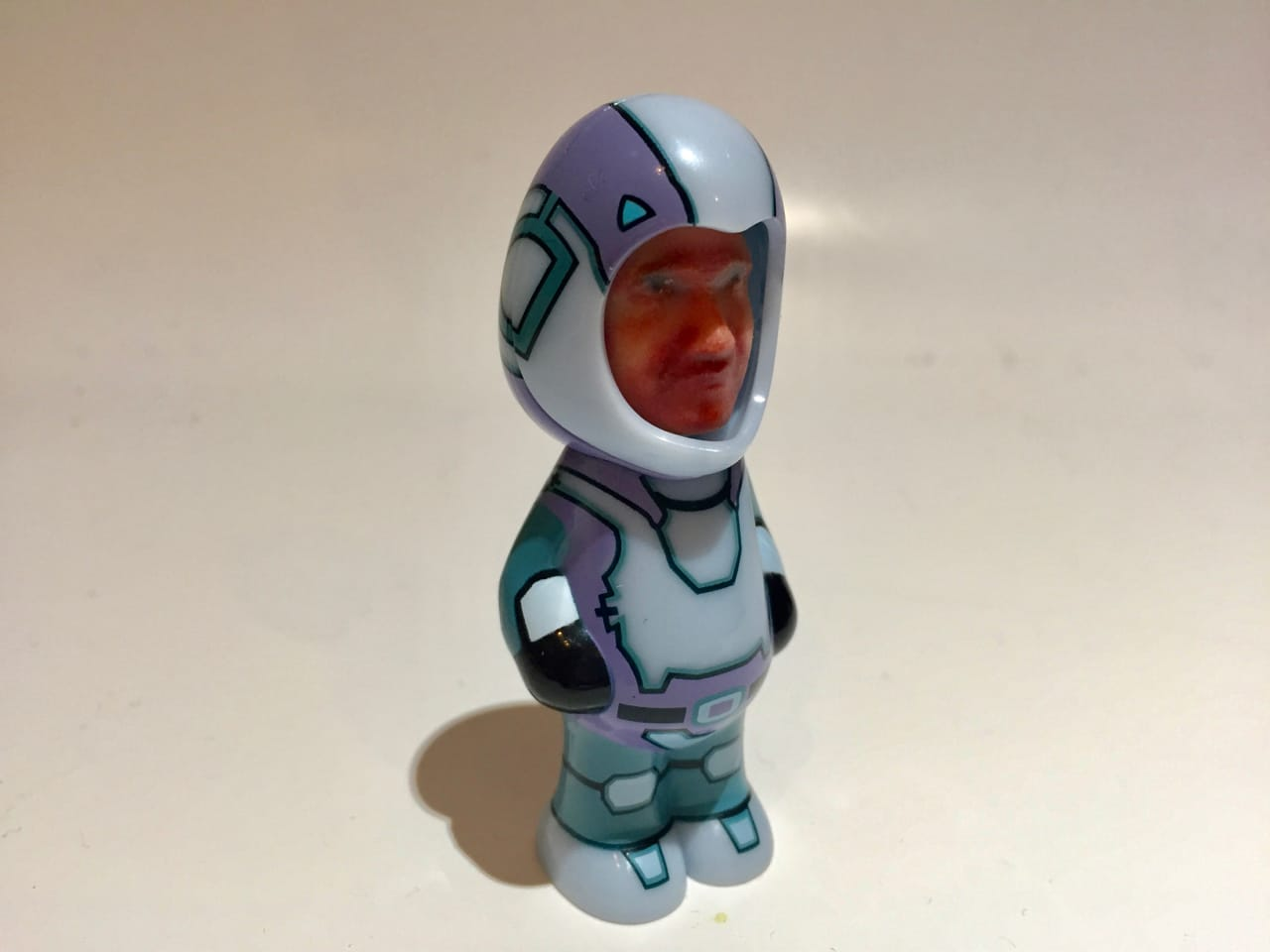 A personalized 3D printed figurine
