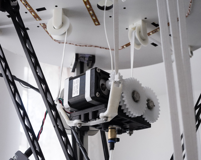 The Flying Extruder: The Best of Bowden and Direct 3D Printer Extruders?
