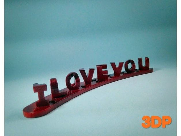 , Design of the Week: I LOVE YOU FOREVER