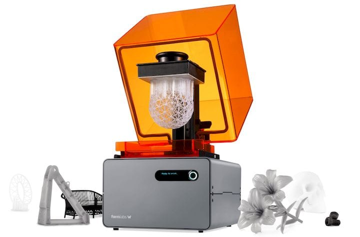 The now-discontinued Form 1+ 3D printer from Formlabs [Source: Formlabs]