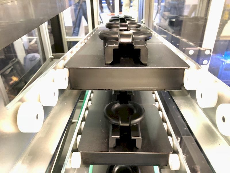 3D print plates ready to roll inside a Formlabs Form Cell unit [Source: Fabbaloo]