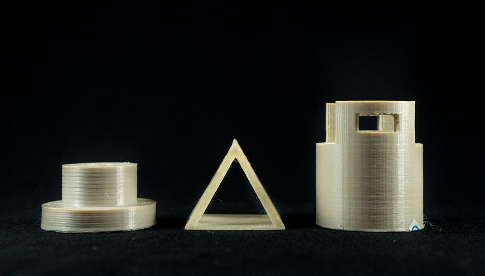 3D printed PEEK parts [Image: Vision Miner]