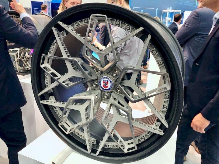 3D printed wheel [Image: Fabbaloo]