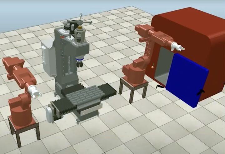 View of Haute Fabrication's VR robotic training system [Source: Haute Fabrication]
