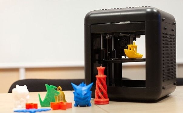 The 3DFORT inexpensive desktop 3D printer [Source: Kickstarter]