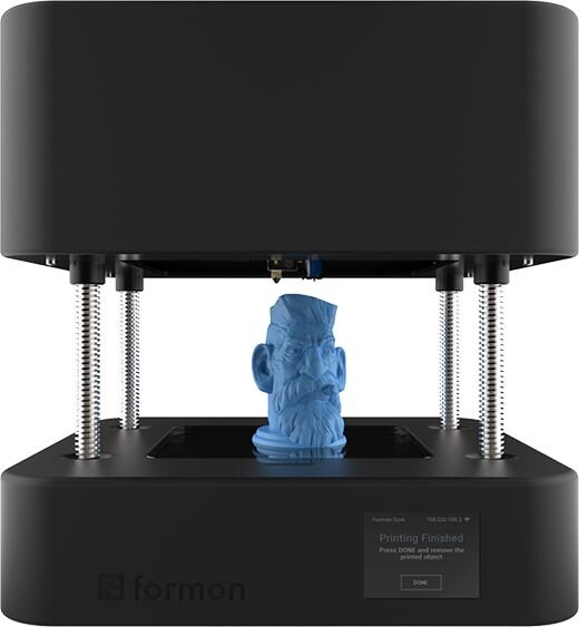 , An Unusual 3D Printer Design From Formon