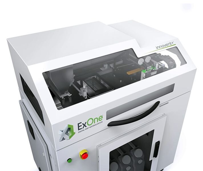 , ExOne Adds New Metal Materials for Industrial 3D Printing