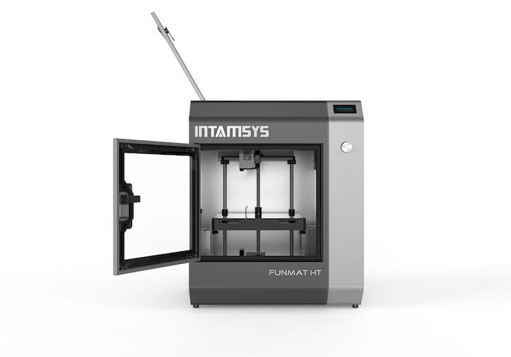 The FUNMAT HT high temperature 3D printer [Source: INTAMSYS]