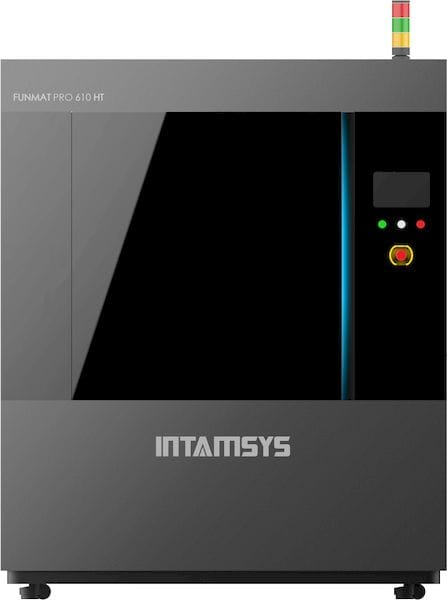 The huge FUNMAT PRO 610 high temperature 3D printer [Source: INTAMSYS]