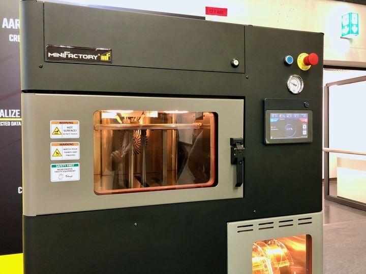 MiniFactory high temperature 3D printer [Source: Fabbaloo]