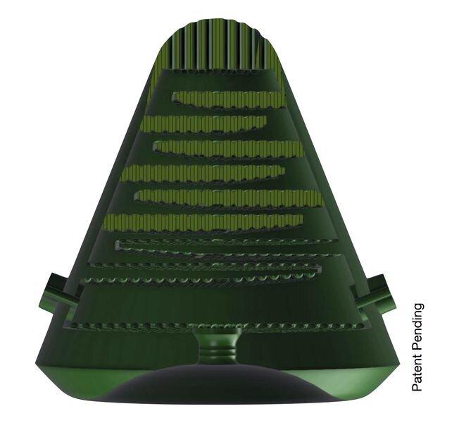 Design of the antibacterial milk filter [Source: Copper3D]