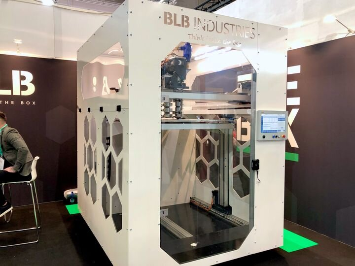 TheBox, a huge large-format 3D printer from BLB Industries [Source Fabbaloo]: