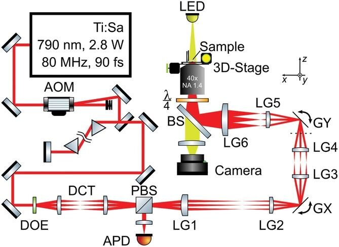 A complex design for a parallel two-photon laser 3D printing system [Source: Wiley]