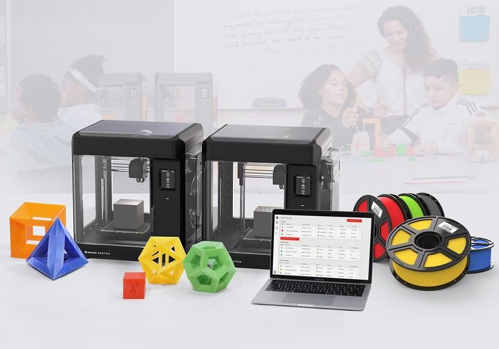 The MakerBot Classroom package [Source: MakerBot]