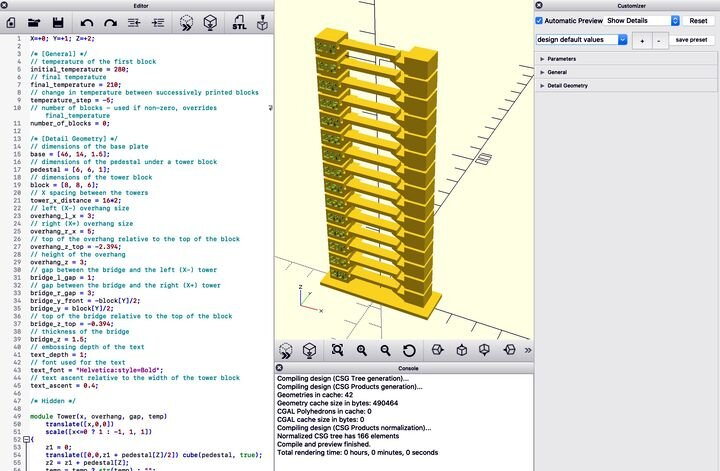 , How To Use A 3D Print Temperature Tower