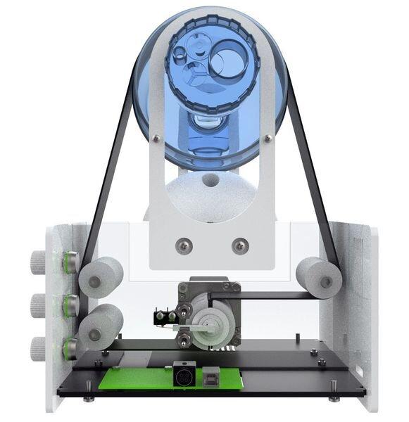 Internals of the VentCore open source ventilator system [Source: VentCore]