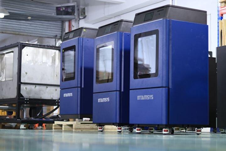 The FUNMAT PRO 410 high temperature 3D printer [Source: INTAMSYS]