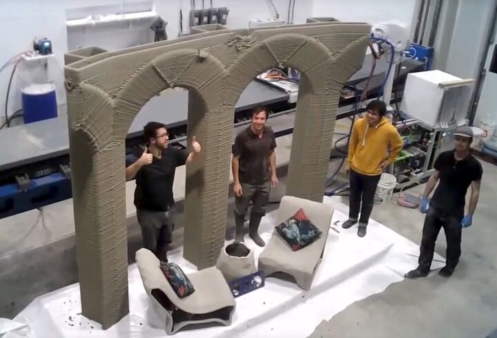 , A 9-Axis Concrete 3D Printer That Can Do Amazing Things