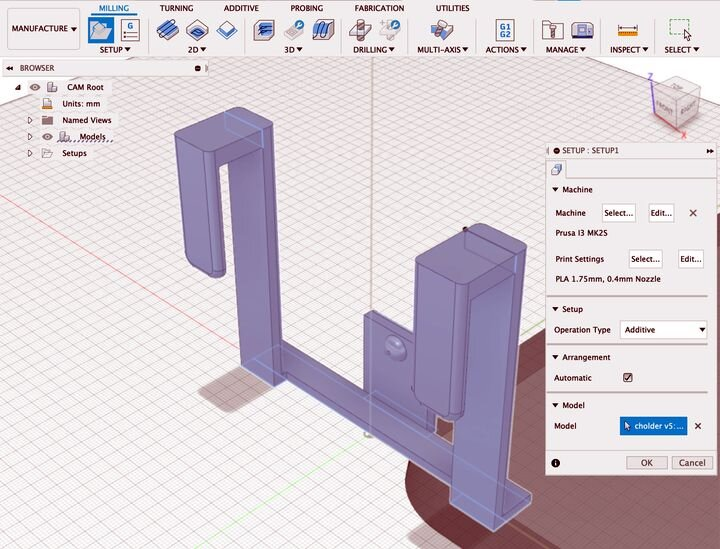 A look at Autodesk Fusion 360's new additive job preparation feature [Source: Fabbaloo]