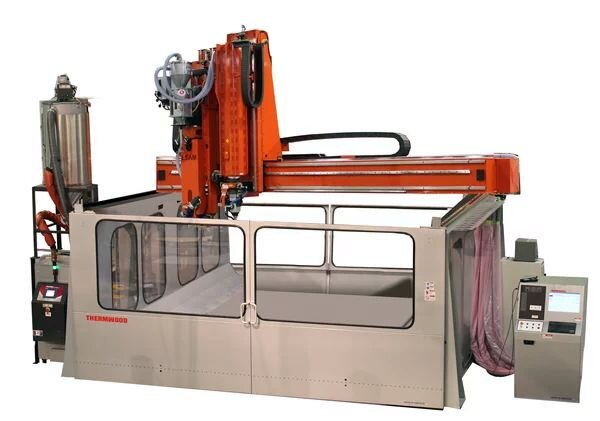 , That Is A Large 3D Printer Enclosure!