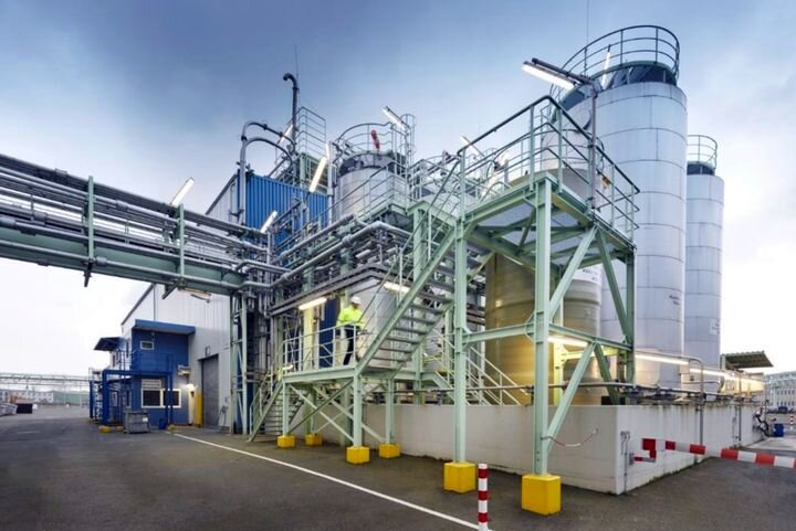 Clariant's green thermoplastic production plant [Source: Clariant]