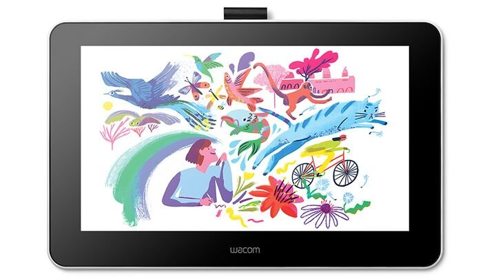 The new Wacom One drawing tablet [Source: SolidSmack]