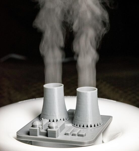 The Nuclear Power Plant Humidifier [Source: Reddit]