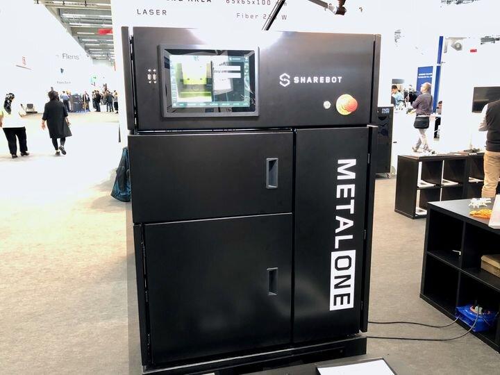 , Sharebot Entering The Metal 3D Printing Arena
