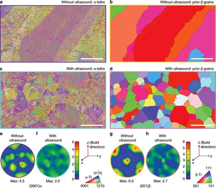 Microstructures revealed with and without ultrasound treatment [Source: Nature]
