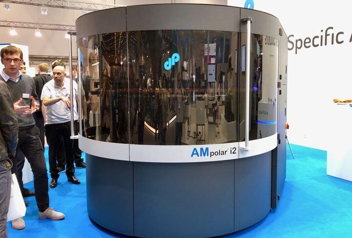 The AMpolar i2 industrial 3D printer [Source: Fabbaloo]