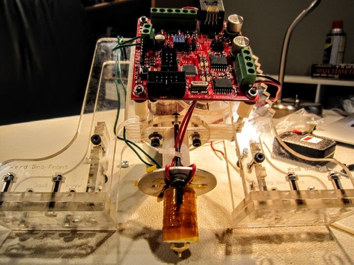 Extrusion mechanism on the original MakerBot CupCake desktop 3D printer [Source: Fabbaloo]