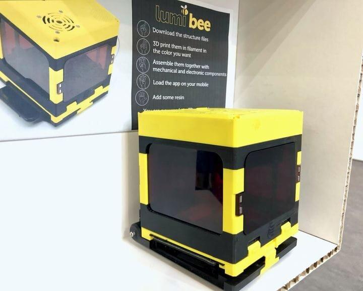 The LumiBEE open source DIY 3D printer [Source; Fabbaloo]