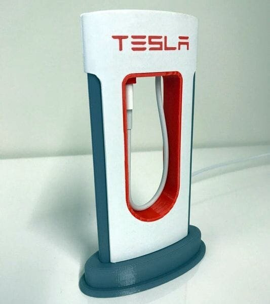 The Telsa Phone Charger [Source: Thingiverse]