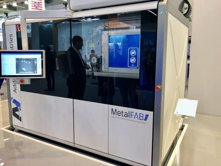 Smaller configuration of Additive Industries' MetalFAB1 metal 3D printer [Source: Fabbalop]