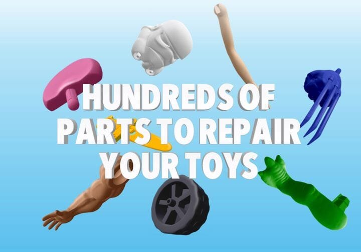 , Toy Rescue To Save Toys, Money and The Environment With 3D Printing