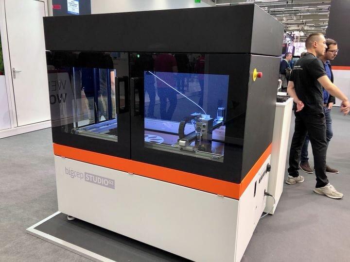 The BigRep Studio G2 3D printer [Source: Fabbaloo]