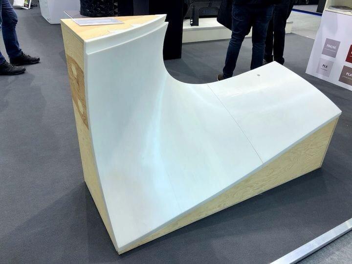 Huge concrete formworks made on the BigRep Studio G2 3D printer [Source: Fabbaloo]